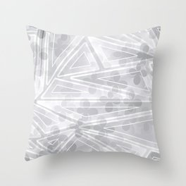 Flower Motifs 4 Throw Pillow