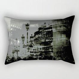 1st arrondissement-gray Rectangular Pillow