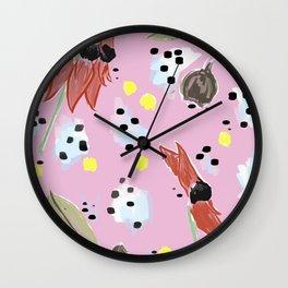 Natives #1 Wall Clock