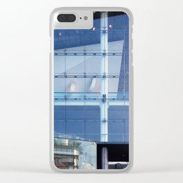 Transparent August Solitudes Clear iPhone Case
