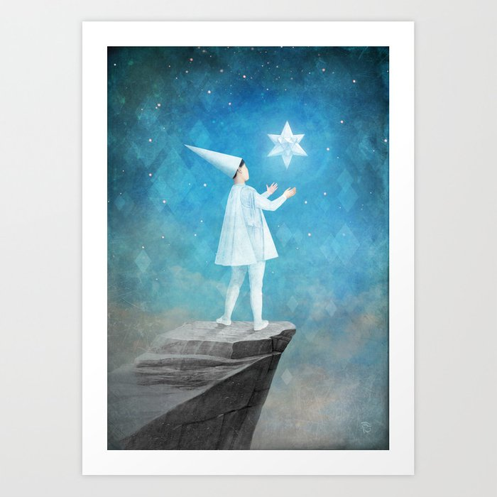 Discover the motif THE SILENT PRINCESS by Christian Schloe as a print at TOPPOSTER