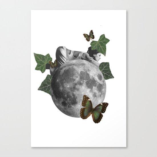 new born nature Canvas Print