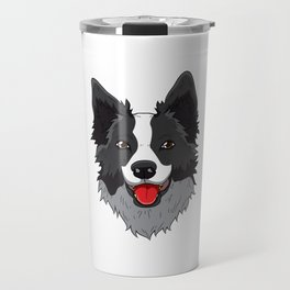 Border Collie Collies Lover Christmas Dog Collies Travel Mug