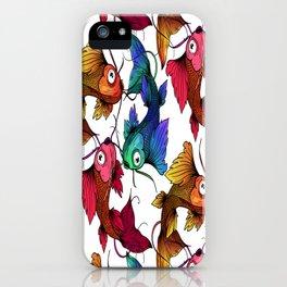 Koi fish Pattern Japanese Carp iPhone Case