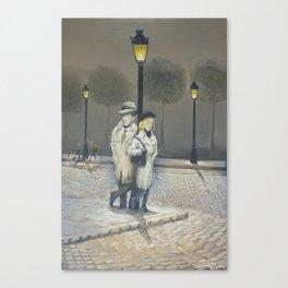 Midnight in Paris Canvas Print