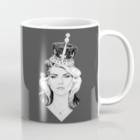 harry Mugs featuring Debbie Harry by Tracie Andrews