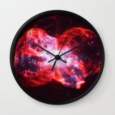 Massive Explosion Wall Clock
