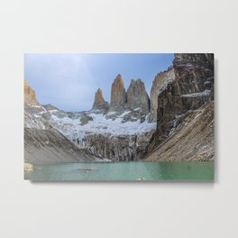 The Base of the Towers II | Torres del Paine National Park, Patagonia Metal Print