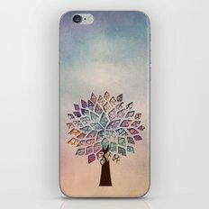 Abstract Petal Tree 2 iPhone & iPod Skin