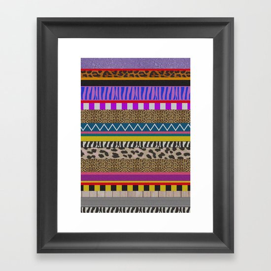 NEWWAVE Framed Art Print