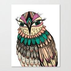A Lovely Owl Canvas Print