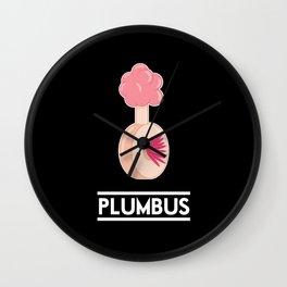 Plumbus Wall Clock