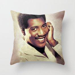 Otis Redding, Music Legend Throw Pillow