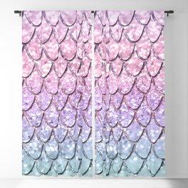 Mermaid Scales on Unicorn Girls Glitter #1 #shiny #pastel #decor #art #society6 Blackout Curtain