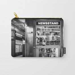 NYC Subway Newstand Carry-All Pouch