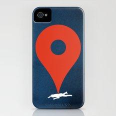 Pinned iPhone (4, 4s) Slim Case