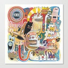 PIAFABRAS Canvas Print