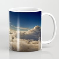 clouds Mugs featuring clouds by 2sweet4words Designs