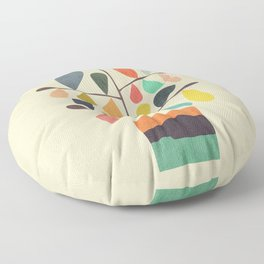 Potted Plant 4 Floor Pillow
