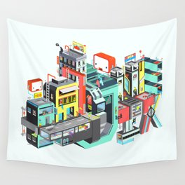 Next Stop Wall Tapestry