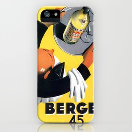 Vintage poster - Berger iPhone Case