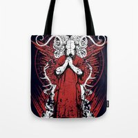 occult Tote Bags featuring Occult by Tshirt-Factory