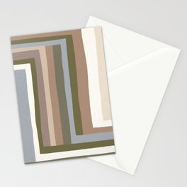 Abstract Neutrals #3 Stationery Cards
