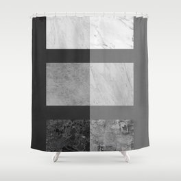 Colorful texture IV Shower Curtain