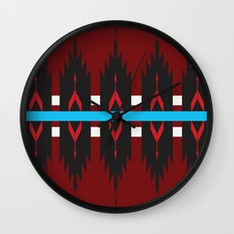 Navajo Horizon Wall Clock