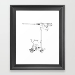 30MM Trike Framed Art Print