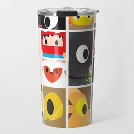 World of Ghibli Blocks Travel Mug