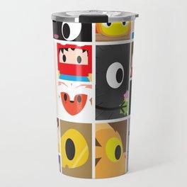 World of Ghibli Blocks Travel Mug