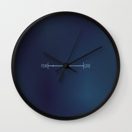 DONNIE DARKO - FEAR LOVE Wall Clock