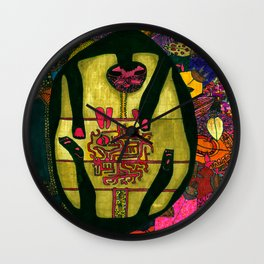 Sunflower in me Wall Clock