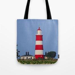 Happisburgh Lighthouse Norfolk Tote Bag