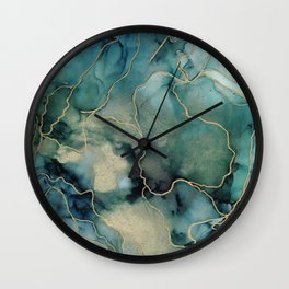 Jewel of Kings Wall Clock