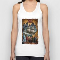 the goonies Tank Tops featuring Goonies Never Say Die by Taylor Rose