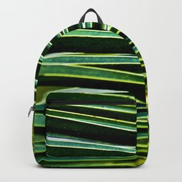 Magic Green Palm Backpack