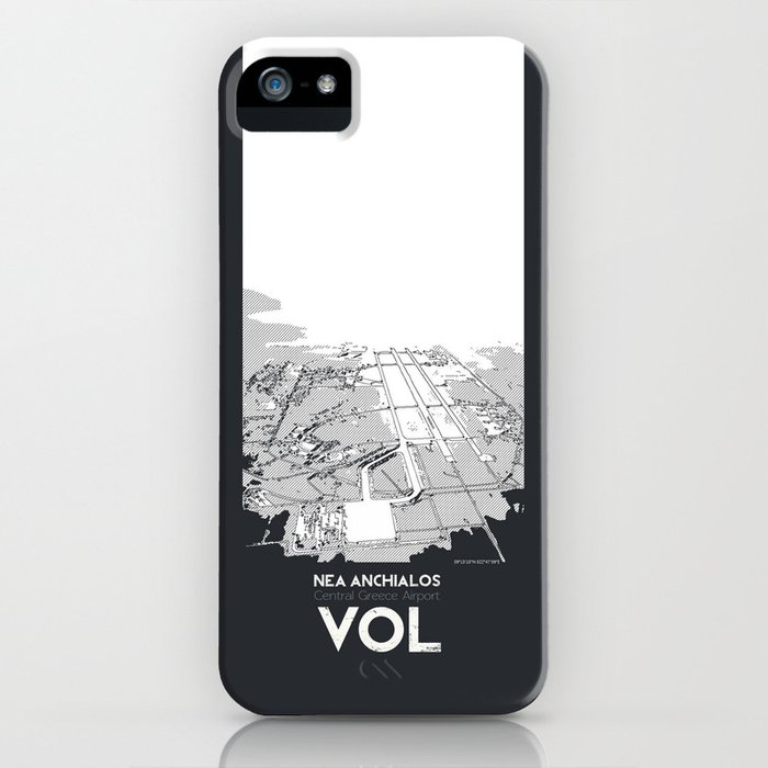 Volos Central Greece Airport iPhone Case