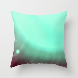 Alpha Centauri Space Art poster Throw Pillow