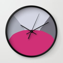 Deyoung Pink Yarrow Wall Clock