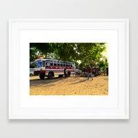 philippines Framed Art Prints featuring Rest Stop 2 - Philippines by Michael S.