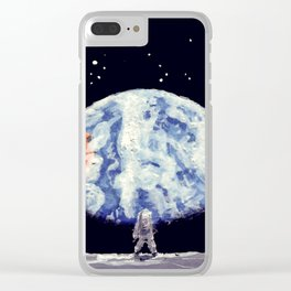 NEIL ARMSTRONG 2012 Clear iPhone Case