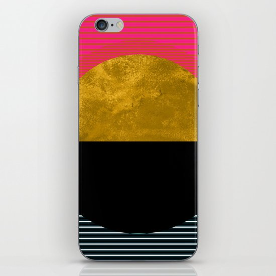 Abstract Sunset iPhone & iPod Skin