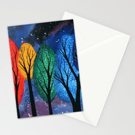 Night Colour Stationery Cards
