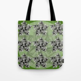 Kaleidescope Witch Tote Bag