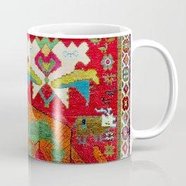 Antique Persian Hunting Rug With Lion Print Coffee Mug