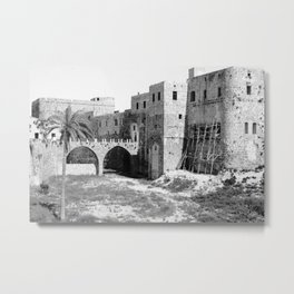 Akka (Acre, Accho) Metal Print