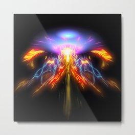 Infinity Flux Metal Print