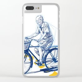 Running Late Clear iPhone Case